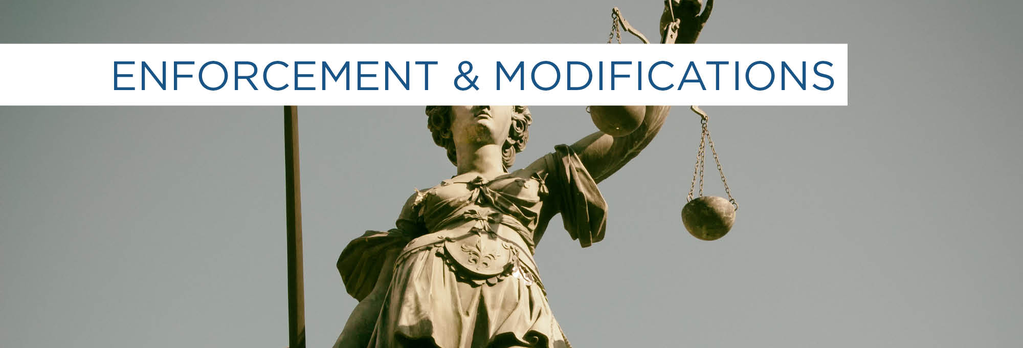 enforcement and modifications Scottsdale Lawyer